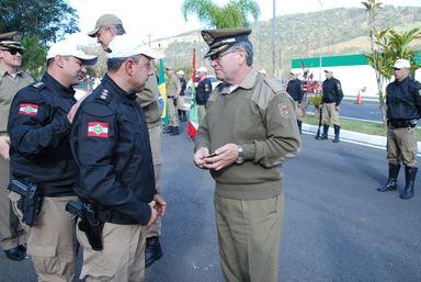 Solenidade marca o aniversário do Batalhão de Policiamento Militar Rodoviário de Ibicaré