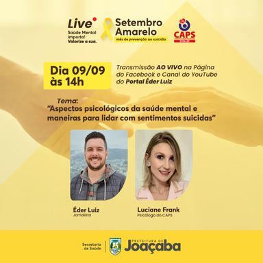 Live! Setembro Amarelo