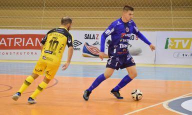 Joaçaba Futsal enfrenta o Umuarama neste sábado pela Liga Nacional