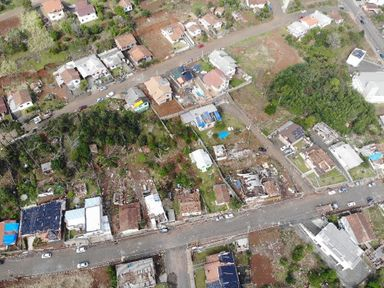 Fotos aéreas mostram a dimensão dos estragos causados pelo tornado em Água Doce
