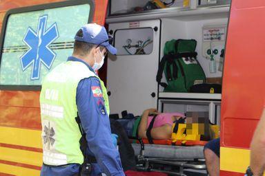 Acidente no interior de Luzerna deixa três pessoas feridas