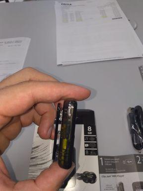 Mp3 Player Sandisk Clip Jam 8gb Preto.