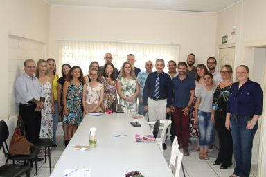 Prefeito em exercício Jucelino Ferraz acompanha andamento de obras em Joaçaba