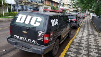 Polícia Civil recaptura um dos três fugitivos do Presídio de Joaçaba