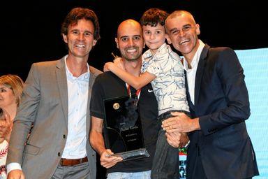 Anderson Andres foi eleito o melhor técnico de Santa Catarina entre todas as modalidades esportivas em 2018.