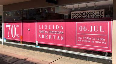 Lorenci Mulher promove o Liquida Portas Abertas