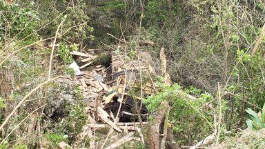 Acidente com morte é registrado no acesso Egídio Pozzobom em Herval d' Oeste