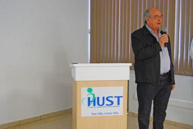 HUST e Unoesc lamentam o falecimento do professor Adgar Zeferino Bittencourt
