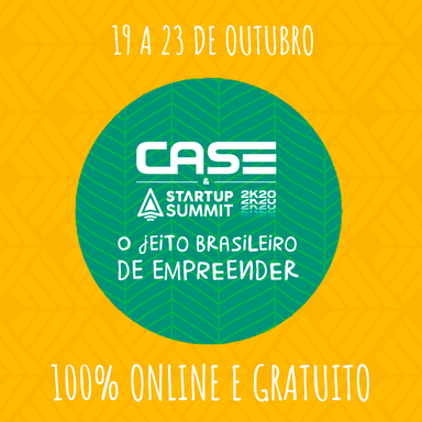 Definida programação do Case Startup Summit 2k20
