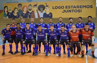 Joaçaba Futsal disputa a Taça Brasil 2020 a partir de segunda-feira