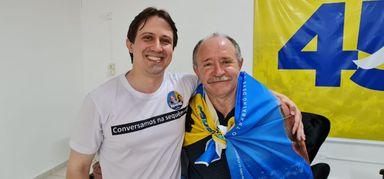Bigode é reeleito prefeito de Joaçaba