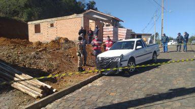 Homem morre atropelado por veículo sem freio