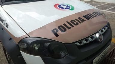 Ladrão tenta furtar carro com criança dentro em Concórdia