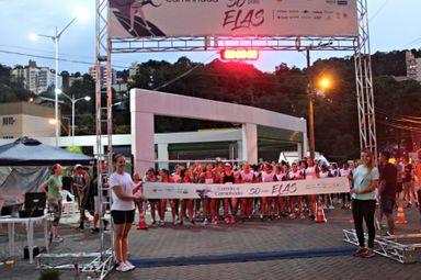 1ª edição da Corrida e Caminhada Para Elas é realizada com sucesso