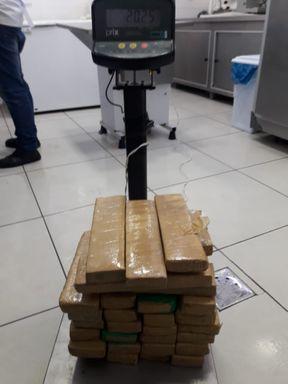 Carregamento de droga que saiu de Joaçaba é aprendido em São Cristóvão do Sul