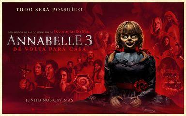 Vai encarar a Anabelle no Cine Gracher de Joaçaba?