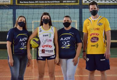 Atleta formada na AJOV integra maior clube poliesportivo da América Latina