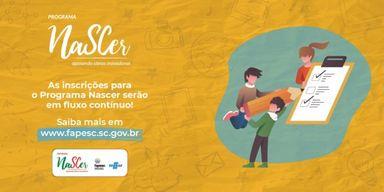 Com inscrições abertas, Programa NaSCer transforma ideias inovadoras em negócios
