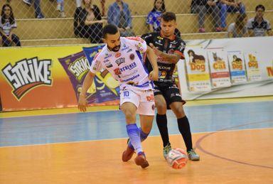 Adriano está no Joaçaba Futsal desde a temporada 2017 (Foto Mayelle Hall)