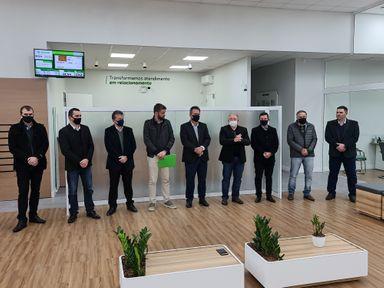 Sicredi UniEstados reinaugura uma moderna e ampla agência em Joaçaba
