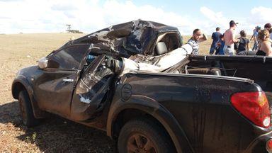 Outros veículos foram atingidos