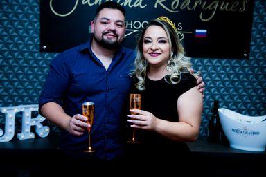 Jana e o esposo Romeu. (Foto: Ladimara Teixeira)