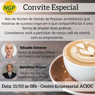 Cases de sucesso serão apresentados em encontro do Núcleo de Gestão de Pessoas da ACIOC