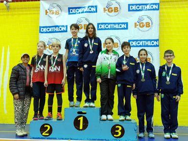 Badminton de Joaçaba conquista 11 medalhas no Sul-Brasileiro 2019