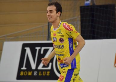 Yan está no Joaçaba Futsal desde a temporada 2017 (Foto Mayelle Hall)