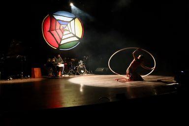 Aconteceu nos dias 5 e 6 de Julho no Teatro Alfredo Sigwalt a 3ª edição do projeto Na Teia - Artes Integradas Autorais
