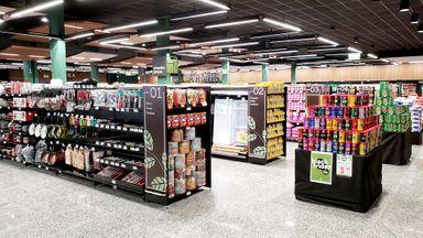 Caitá inaugura complexo de compras em Joaçaba