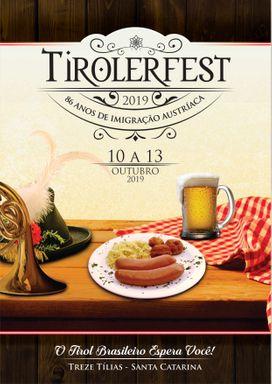 Tirolerfest acontece de 10 a 13 de outubro em Treze Tílias