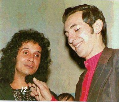 Bolinha entrevistando Roberto Carlos