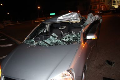 Família de Joaçaba sobrevive a grave acidente na BR 282