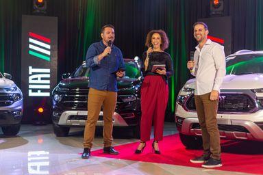 Live da Carboni Fiat para o lançamento da Nova Fiat Toro é sucesso
