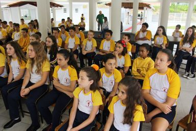 Início do ano letivo na Escola Nova abre as portas para implantação do Parque Tecnológico em Luzerna
