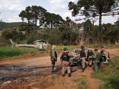 Fiat Toro foi tomada em assalto e queimada no interior de Ibiam