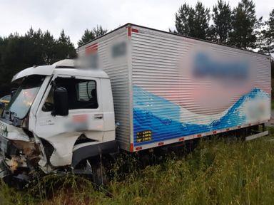 Idoso morre em acidente de trânsito na BR-282 em Campos Novos