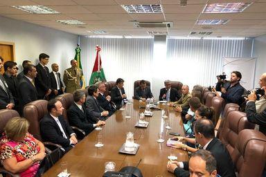Autoridades destacaram importância da iniciativa para o Judiciário e área da Segurança Pública