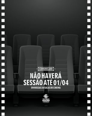 Cine Gracher não estará funcionando nos próximos 15 dias