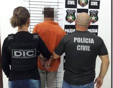 Homem é preso por estupro de vulnerável em Zortéa