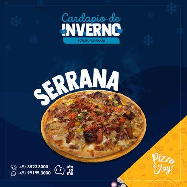 Pizza Joy lança cardápio de inverno em edição limitada.