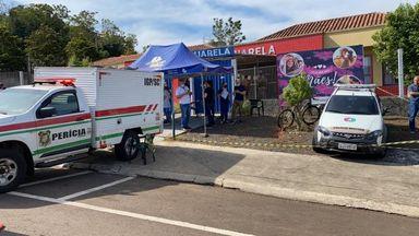 Governadora e representantes de Segurança Pública do Estado concedem coletiva de imprensa sobre tragédia em Saudades