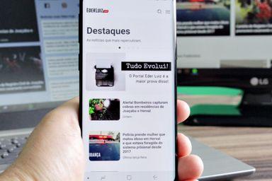 Portal Éder Luiz lança o primeiro aplicativo de notícias da região