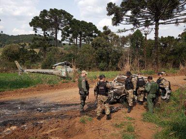 """""""Operação Cerco"""" é encerrada, mas não teve êxito na captura dos criminosos que assaltaram carro-forte"""