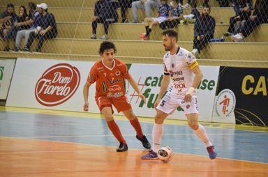 Joaçaba Futsal recebe o Tubarão neste sábado pela Série Ouro