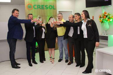Cresol Tangará inaugura agência no Centro de Joaçaba