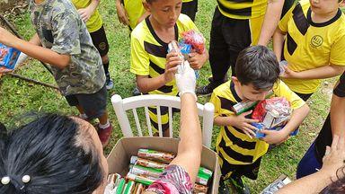 Dia das crianças especial é comemorado pela Escolinha Esperança