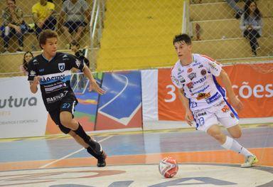 Jhony está no Joaçaba Futsal desde a temporada 2018 (Foto Mayelle Hall)
