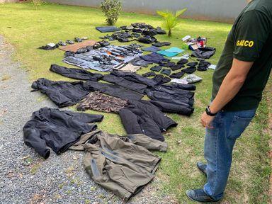 Quadrilha de assaltantes de ônibus e bancos que agia em SC e no PR é presa no Vale do Itajaí
